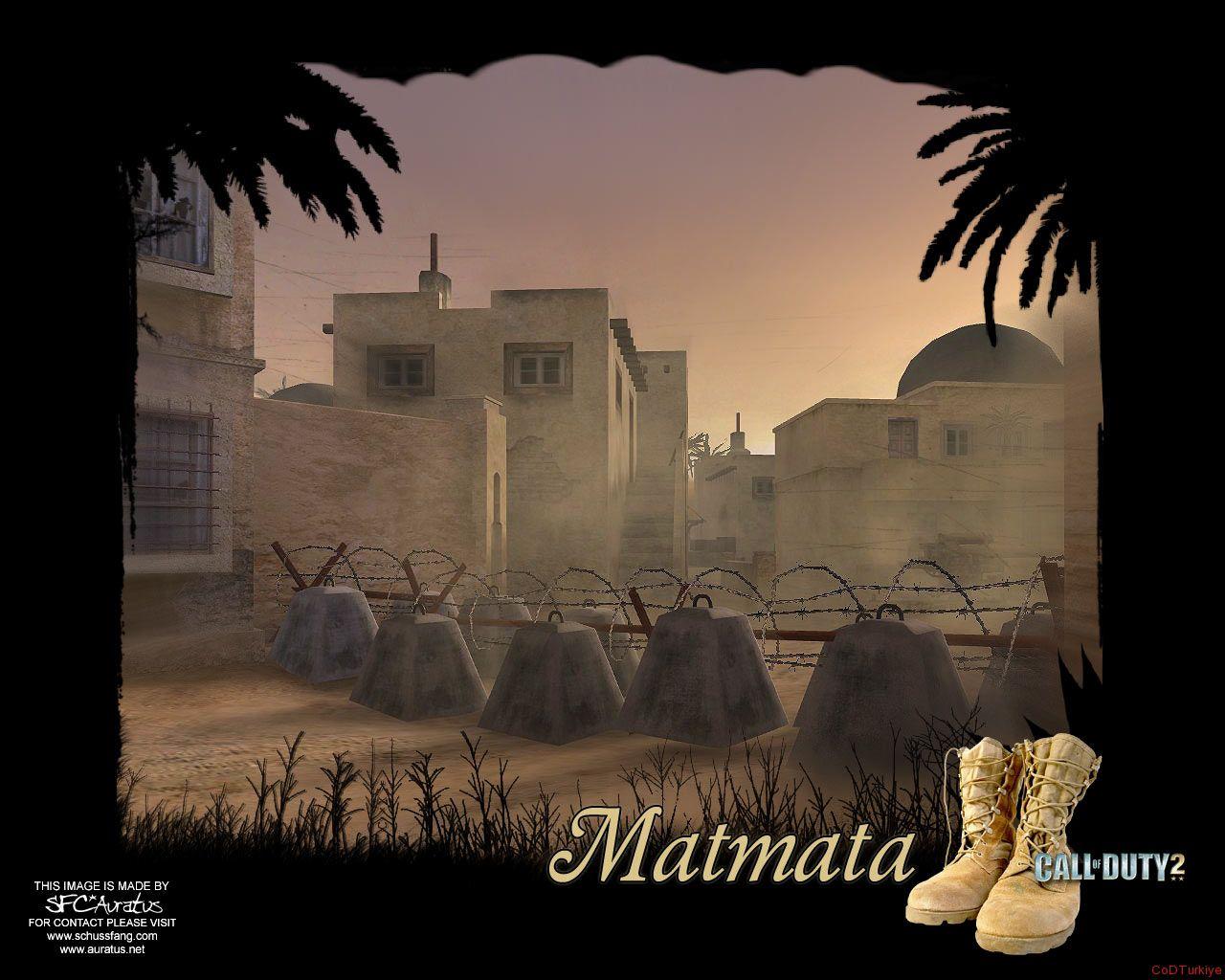 Call of Duty 2 Map Matmata