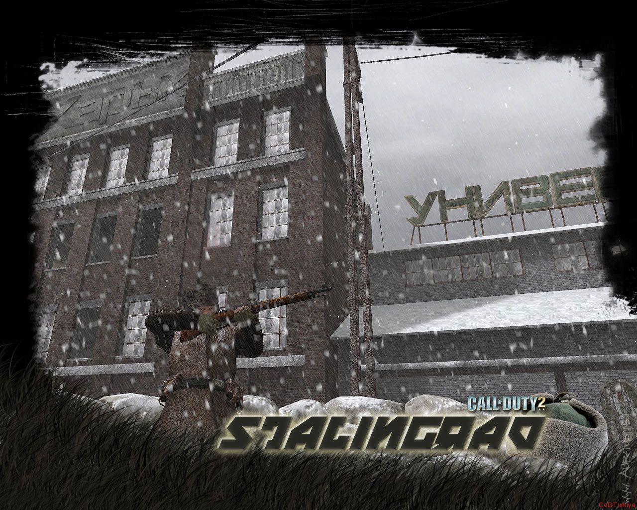 Call of Duty 2 Map Railyard