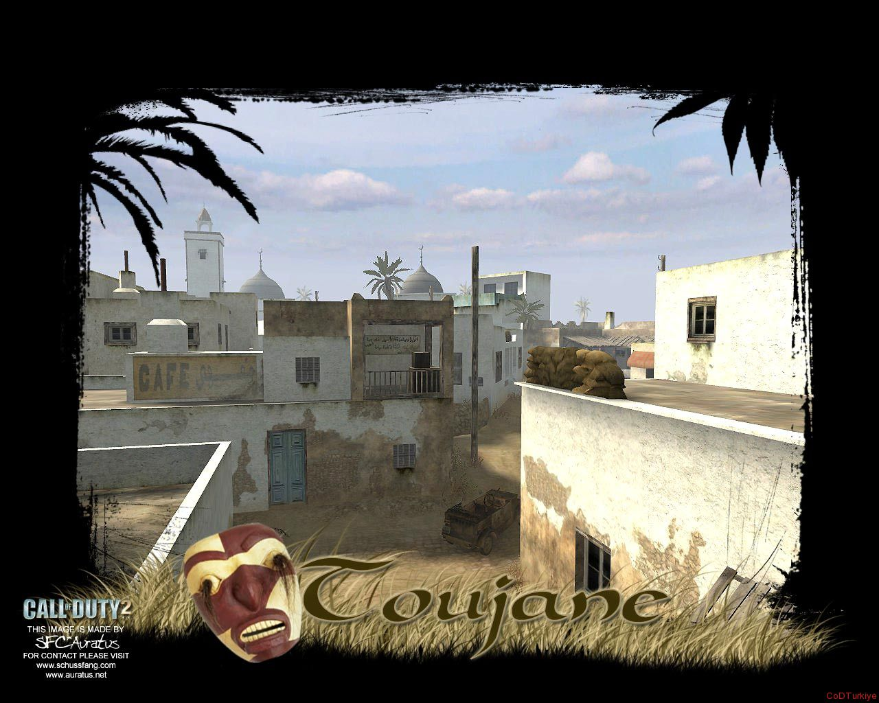 Call of Duty 2 Map Toujane