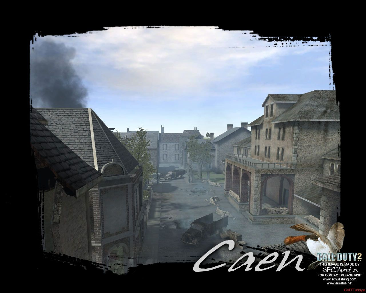 Call of Duty 2 Map Trainstation