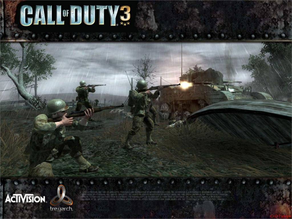 Call of Duty 3 Tam Çözüm