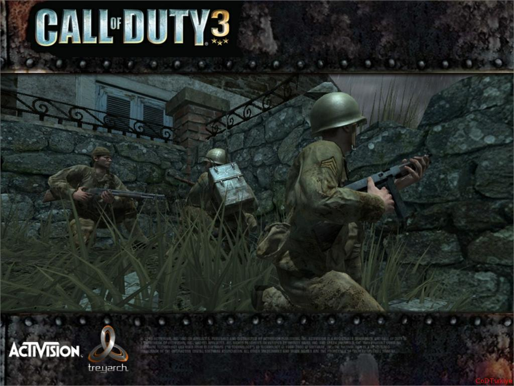 Call of Duty 3 Wallpaper, Ekran Görüntüleri
