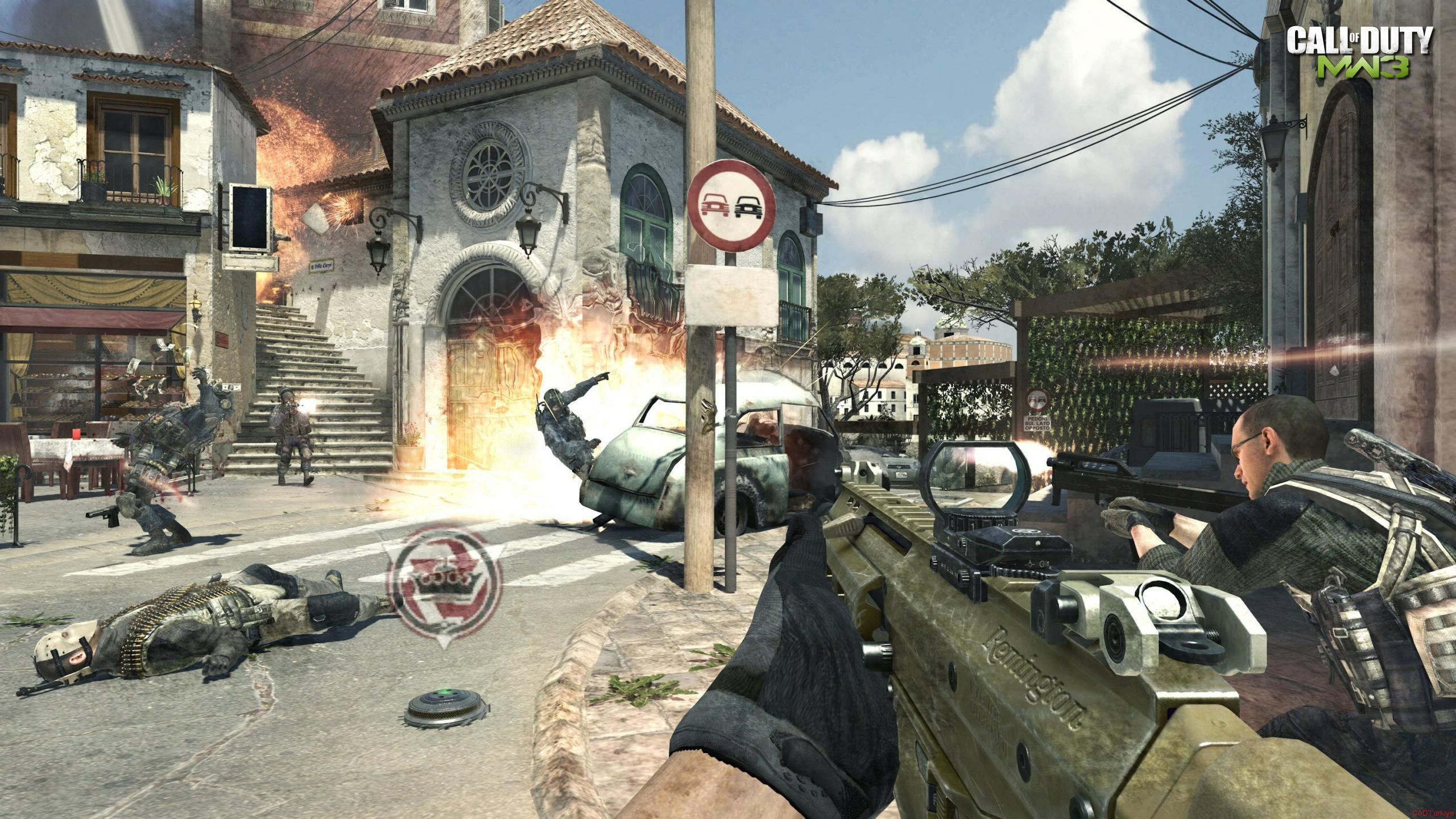 Call of Duty 8 Modern Warfare 3 Gameplay Screenshots