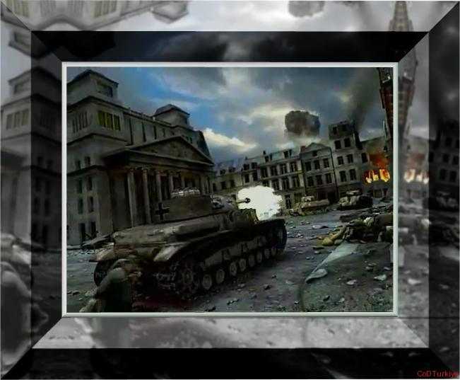 Call of Duty Finest Hour Tank Attact