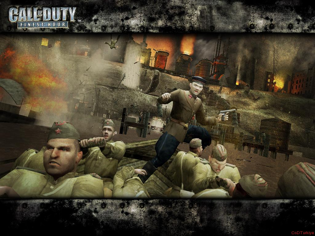 Call of Duty Finest Hour Wallpapers in Boat