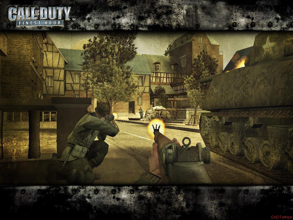 Call of Duty Finest Hour Wallpapers