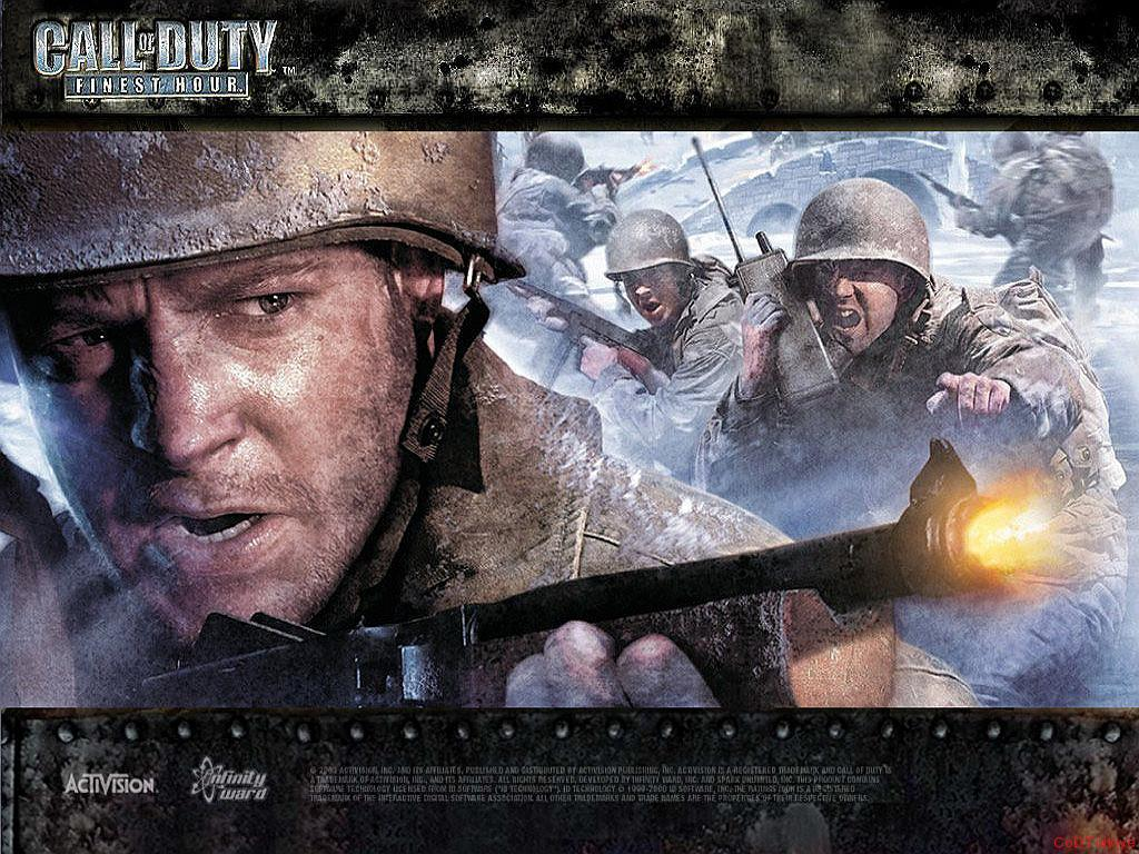 Call of Duty Finest Hour Wallpapers Game Main Menu