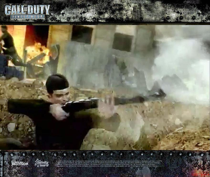 Call of Duty Finest Hour Wallpapers Sniper Soldier