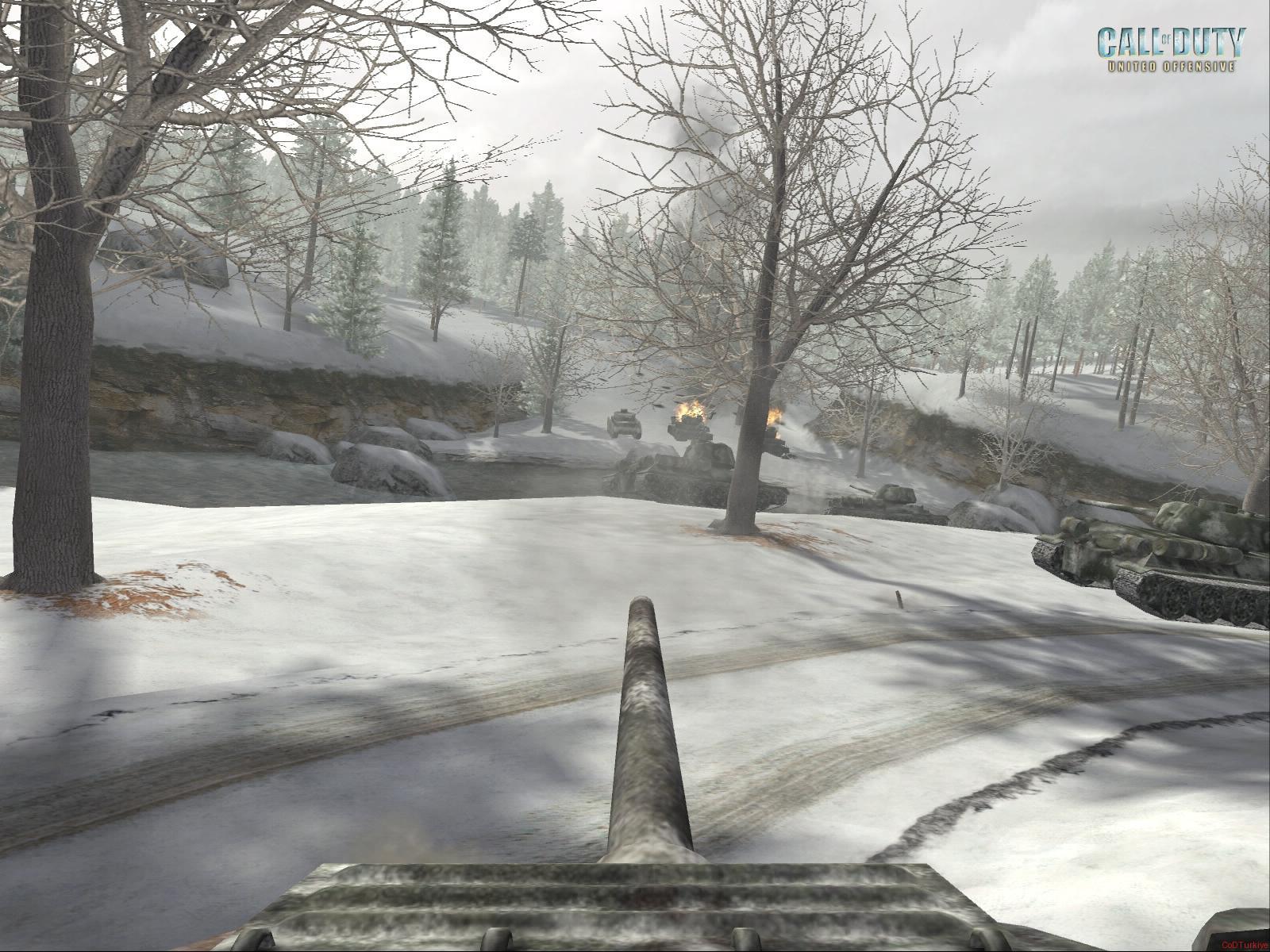 Call of Duty United Offensive Wallpapers Ekran Görüntüleri