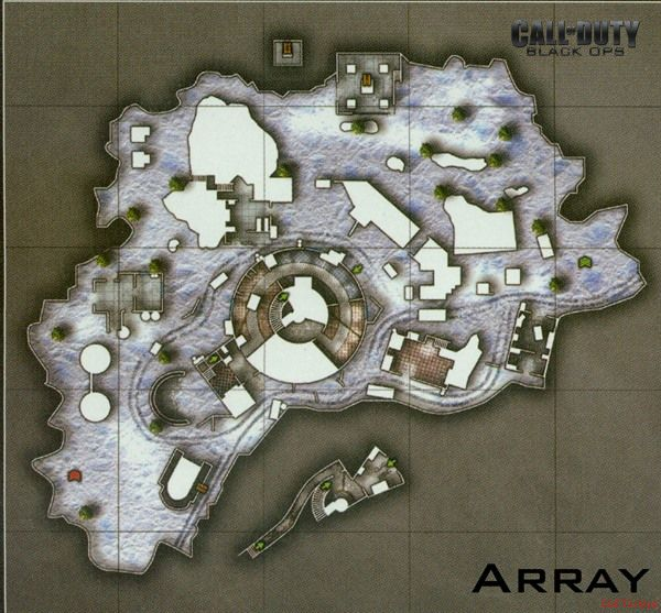 Call of Duty 7 Black Ops Map Array