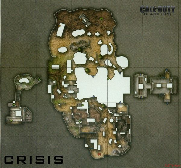 Call of Duty 7 Black Ops Map Crisis