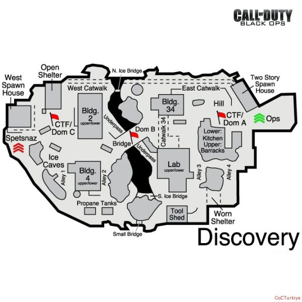 Call of Duty 7 Black Ops Map Discovery