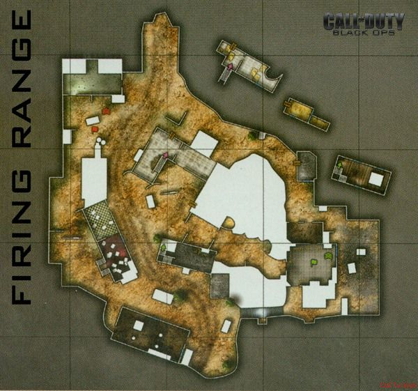 Call of Duty 7 Black Ops Map Fring Range