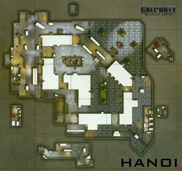 Call of Duty 7 Black Ops Map Hanoi