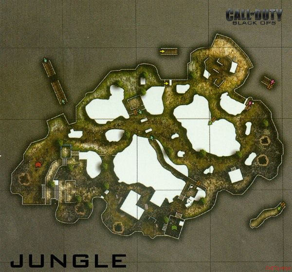 Call of Duty 7 Black Ops Map Jungle