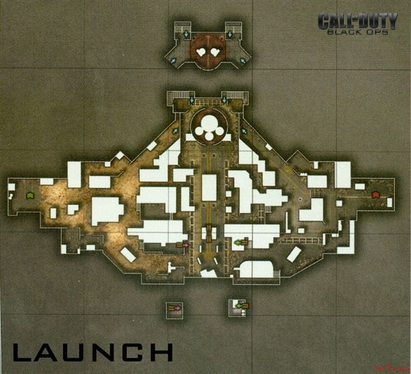 Call of Duty 7 Black Ops Map Launch