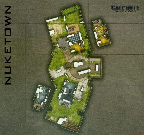 Call of Duty 7 Black Ops Map Nuketown