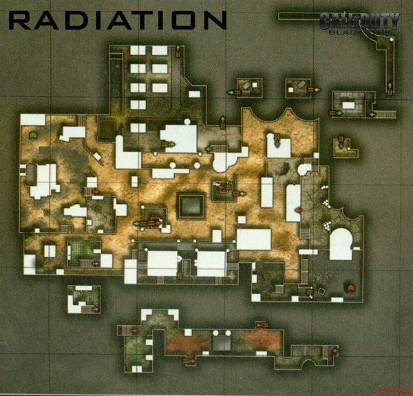 Call of Duty 7 Black Ops Map Radiaton