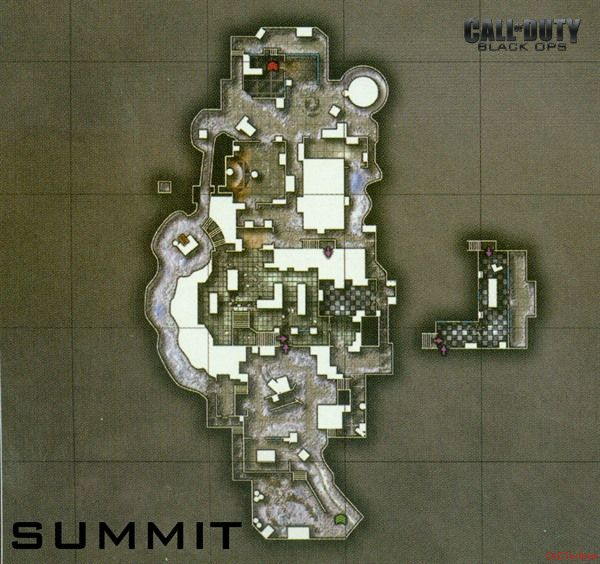 Call of Duty 7 Black Ops Map Summit