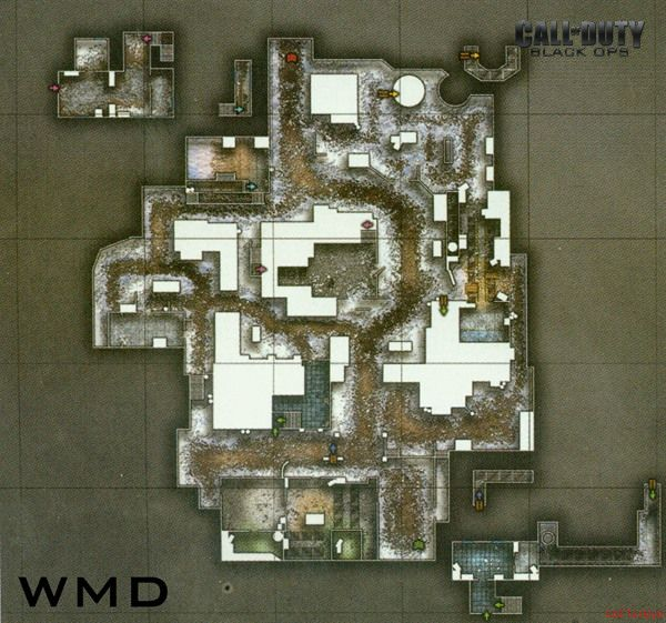 Call of Duty 7 Black Ops Map Wmd