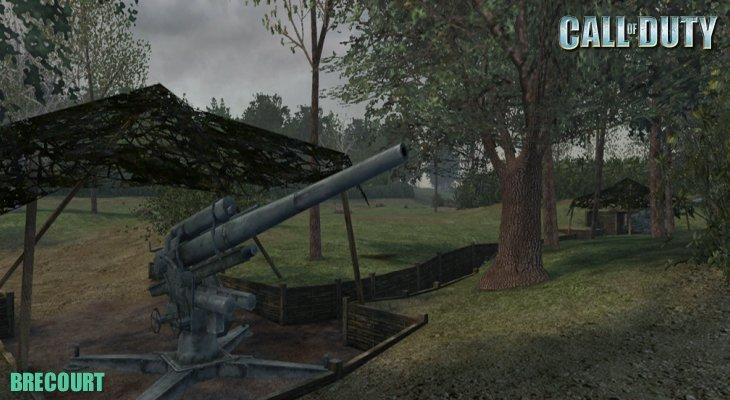 Call of Duty Multiplayer Map Loadingscreen Brecourt