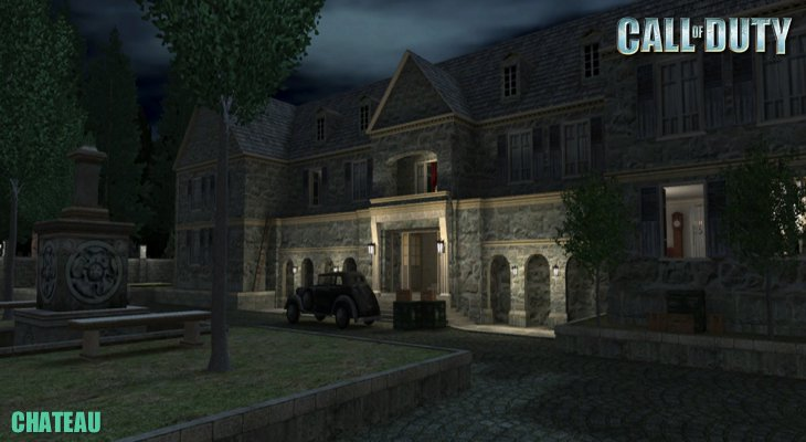 Call of Duty Multiplayer Map Loadingscreen Chateau
