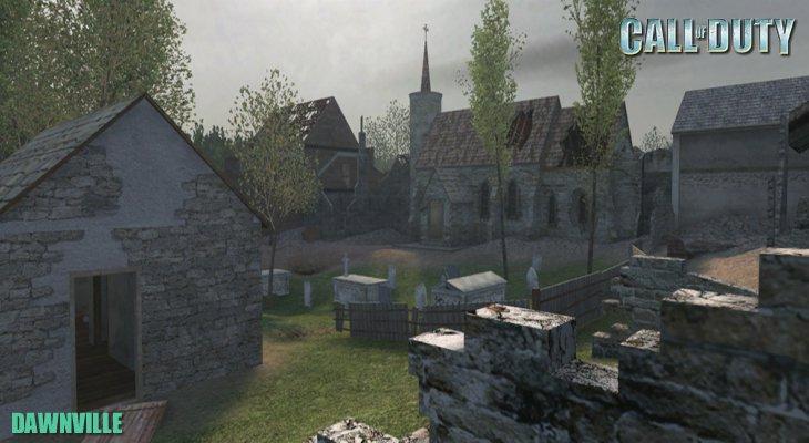 Call of Duty Multiplayer Map Loadingscreen Dawnville