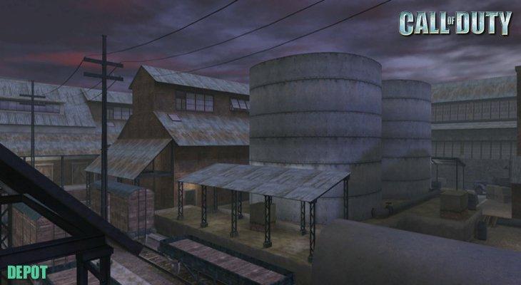 Call of Duty Multiplayer Map Loadingscreen Depot