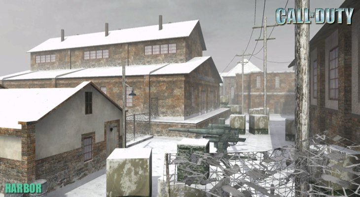 Call of Duty Multiplayer Map Loadingscreen Harbor