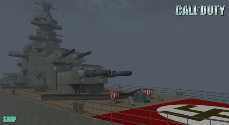 Call of Duty Multiplayer Map Loadingscreen Ship