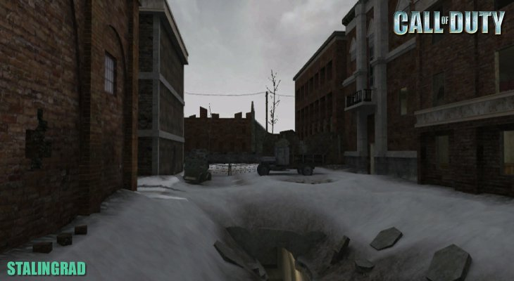 Call of Duty Multiplayer Map Loadingscreen Stalingrad