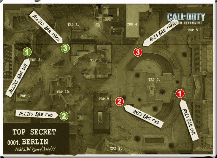 Call of Duty United Offensive Map Berlin BAS