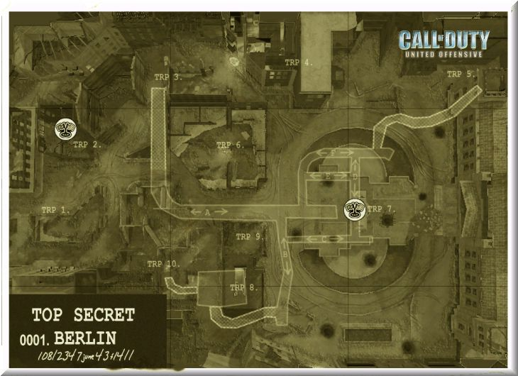 Call of Duty United Offensive Map Berlin CTF