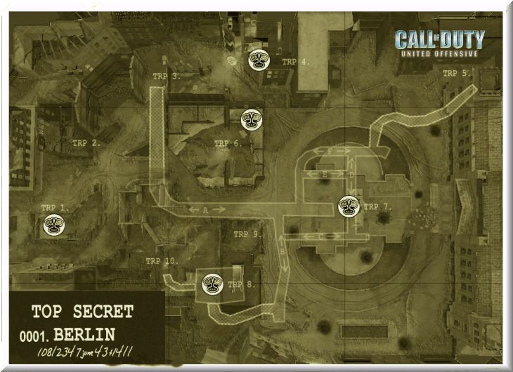Call of Duty United Offensive Map Berlin DOM
