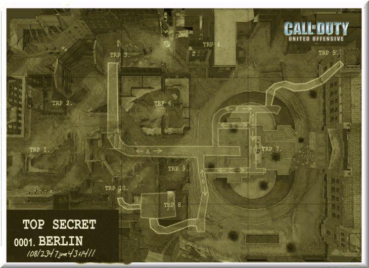 Call of Duty United Offensive Map Berlin Standart