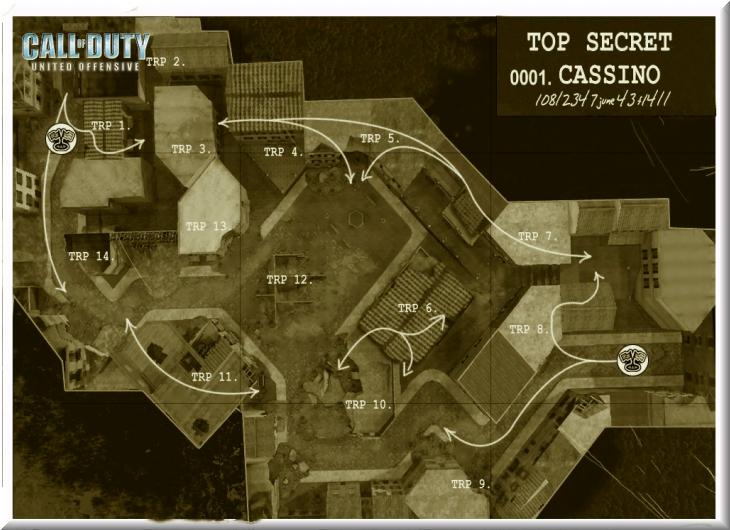 Call of Duty United Offensive Map Cassino CTF