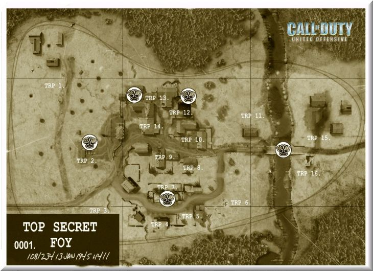 Call of Duty United Offensive Map Foy DOM