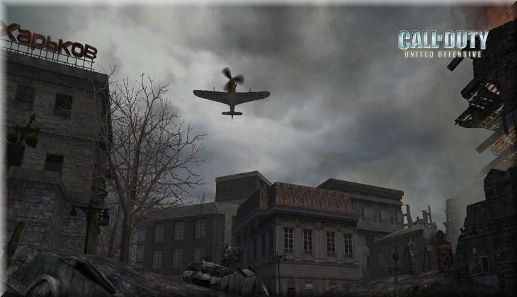 Call of Duty United Offensive Map Kharkov Loadingscreen