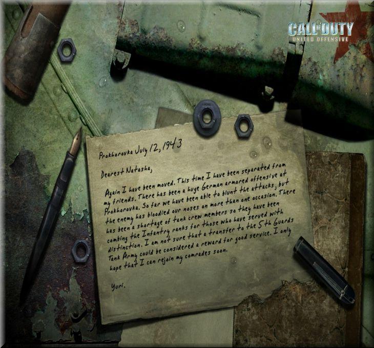 Call of Duty United Offensive Map Kursk Hatırası