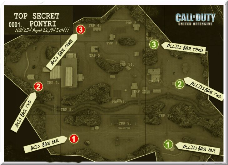 Call of Duty United Offensive Map Ponyri BAS