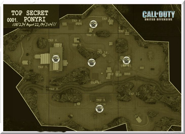 Call of Duty United Offensive Map Ponyri DOM