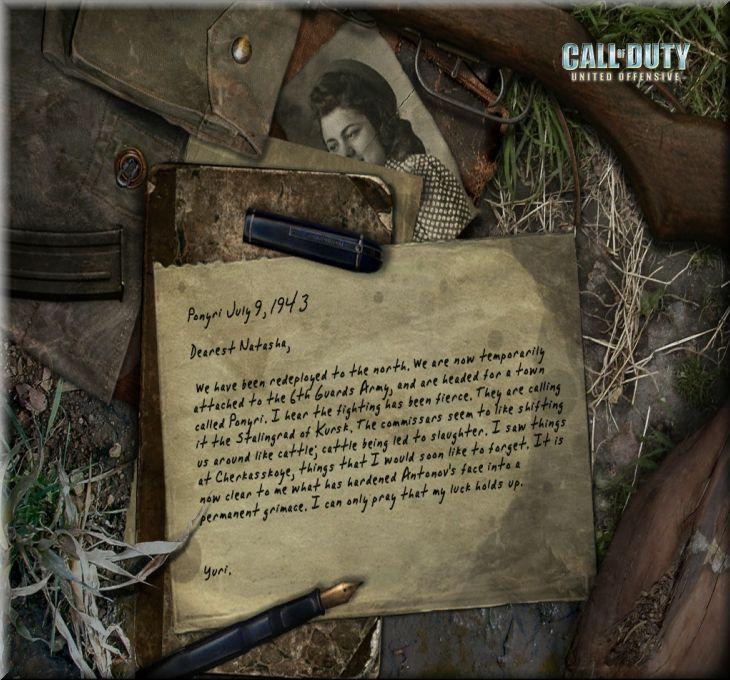 Call of Duty United Offensive Map Ponyri Hatırası