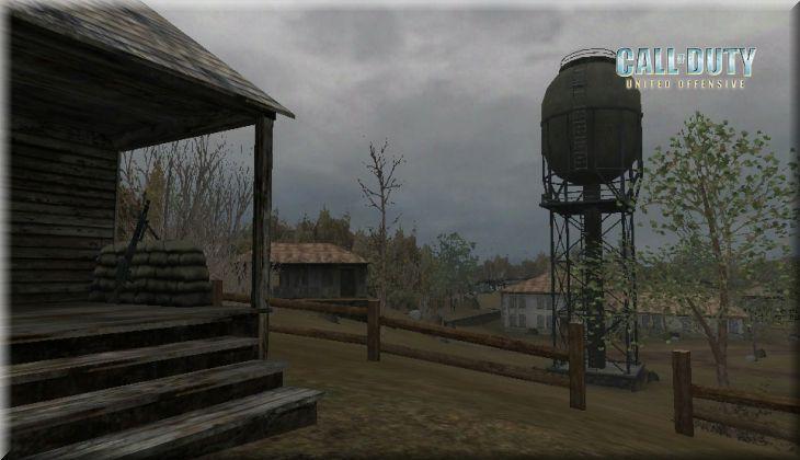 Call of Duty United Offensive Map Ponyri Loadingscreen