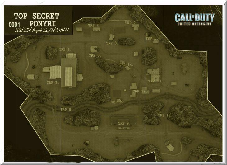 Call of Duty United Offensive Map Ponyri Standart