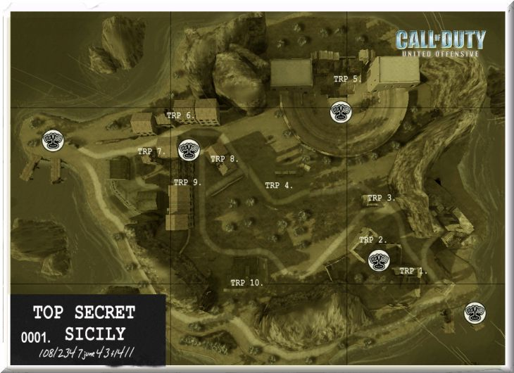 Call of Duty United Offensive Map Sicily DOM