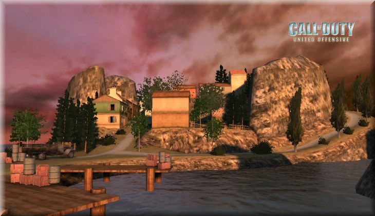 Call of Duty United Offensive Map Sicily Loadingscreen