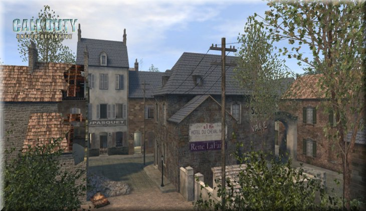 Call of Duty United Offensive Map uo_Carentan Loadingscreen