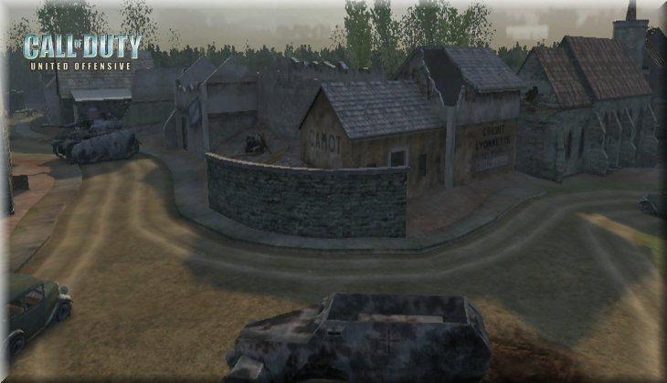 Call of Duty United Offensive Map uo_Dawnville Loadingscreen