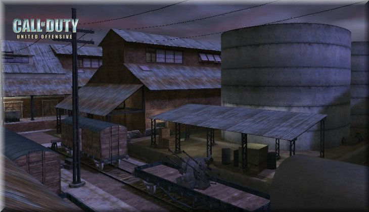 Call of Duty United Offensive Map uo_Depot Loadingscreen