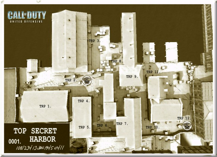 Call of Duty United Offensive Map uo_Harbor CTF